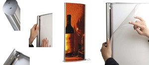 Displays, Roll-Up Systeme, Werbetechnik